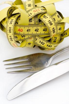 tape measure and utensils - Eating Disorders Awareness Week